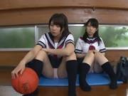 2 chubby japanese girl service one fat japanese guy.kapd024