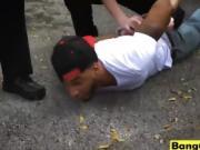 Horny MILF cops get fucked by black cock