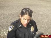 Two nasty cops takes black dick