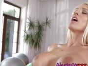 Gym Buddies Do Hot Pussy Eeating In The Gym