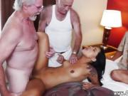 Old and fat grandma cock Staycation with a Latin Hottie