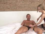 Queening femdom humiliates and punishes her sub