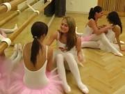 Flexible blonde fucked Hot ballet female orgy