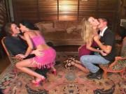 Two Couples Have A Little Fun With Each Other