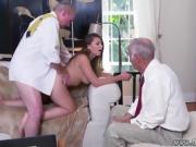 Latina old man Ivy impresses with her enormous boobs and ass