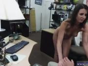 Hot brunette fucked first time Customer's Wife Wants The D!