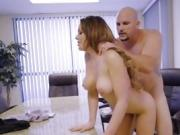 Hot Chick Brooke Beretta Gets Banged And Creamed By Boss