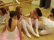 Teen makes her pussy cream Hot ballet damsel orgy