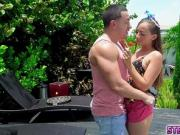 Horny Stepsiblings fall in love and have sex!