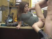 Sexy latina sucks cock Pawnstar meets a rockstar
