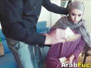 Arab Girl Applying For Job Winds Up Fucking For Cash