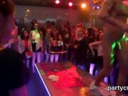 Nasty girls get completely crazy and stripped at hardcore par