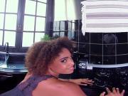 BaDoinkVR Ebony Luna Corazon Showing You Her Properties