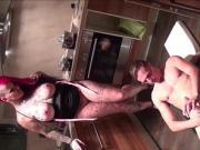 He fucks the Redhead Big Tit Girlfriend of his best Friend