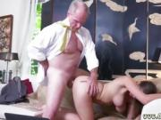 Old couple mature amateur Ivy impresses with her ample bra-st