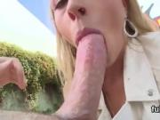 Attractive babe shows huge butt and gets anal banged