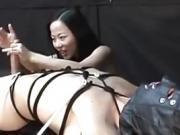 Femdom Handjob von Niya Yu