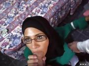 Big tits blowjob cumshot Desperate Arab Woman Fucks For Money