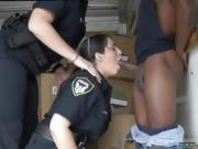 Hairy milf toying Black suspect taken on a raunchy ride