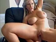 MIlf Brunette Web cam Sex toy