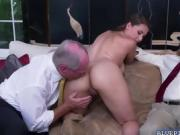 Ivy is down on her knees sucking Dukes old cock