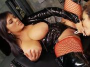 Gorgeous Brunette Jasmine Black Licking And Toying