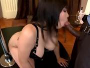 Deep anal after striptease