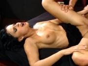 Pretty girl gets fucked in different poses