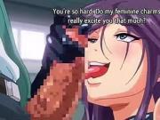 Big Ass Anime Teacher Riding Student's Dick