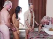 Nasty old doctor and granny girl Staycation with a Latin Hott