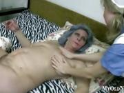 Granny Has A Busty Nursing Assistant