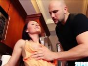 Busty petite Stella Stone gets fucked