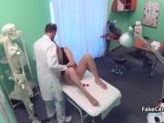 Mature lady eager for doctors cock