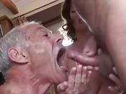 Bisexuelles Cuckold-Paar MMF