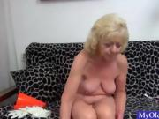 Blonde Granny Loves Sex In Any Form