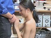 Officer banging a teen suspect Scarlett