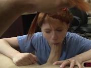 Pawndude fucks hard some redhead babes wet tight pussy