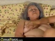 OmaPass Granny BBW and mature toys fucking