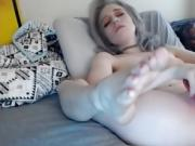 Innocent Pale Chick From Filthy4udotcom With Fabulous Feet