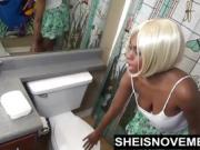 Blonde Teen Ebony Fucked White Man To Pay Bill Sex Blowjob