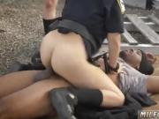 Blade interracial and brunette begs for creampie Break-In Att