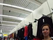 Perfect czech chick gets seduced in the supermarket and naile