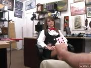 Huge extreme pussy penetration Card dealer cashes in that pus
