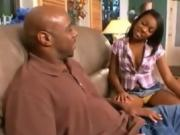 Ebony Teen Stepsister Seduces Stepbrother