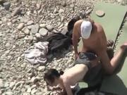Fucked on beach 23