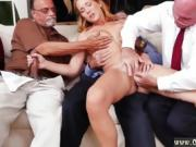 Amateur old man creampie Little by tiny we suggested her more