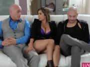 Slutty wife Reena Sky gets slammed