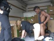 Flexible milf Black suspect taken on a raunchy ride