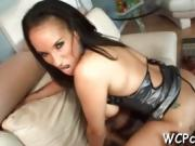Two gangstas are having threesome with one so sexual beauty