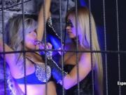 Kinky Latina dolls have some fun with a strap-on